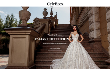 CeleBres - Wedding Salon ECommerce Modern Elementor WooCommerce Theme