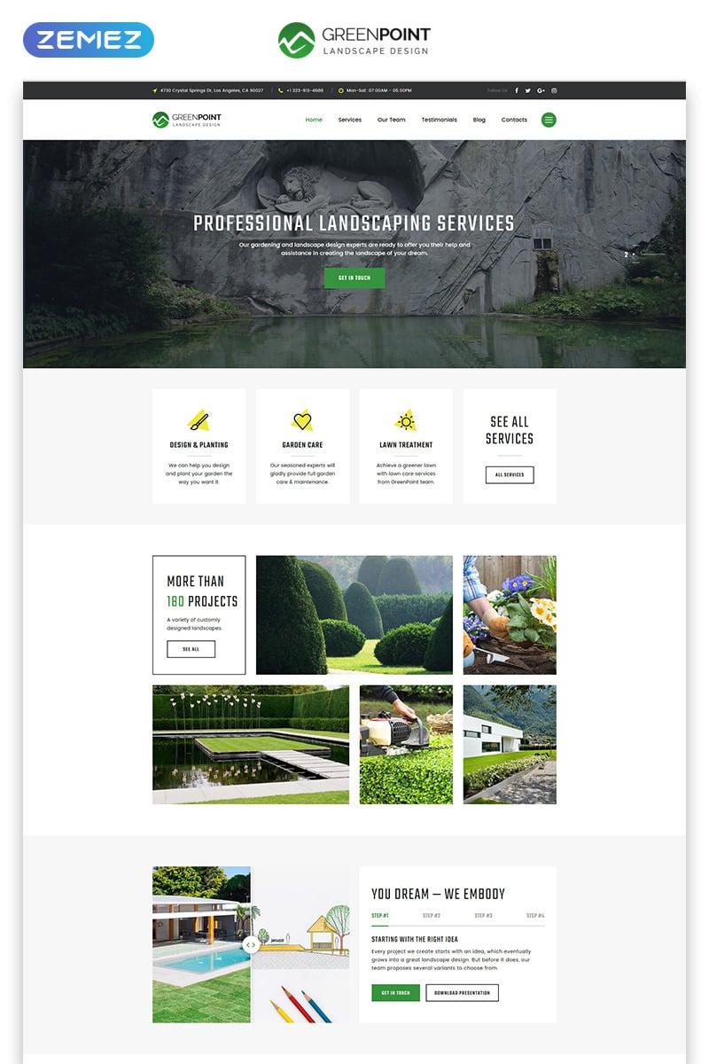 Exterior Design Landing Page Template 79131 Templates Com