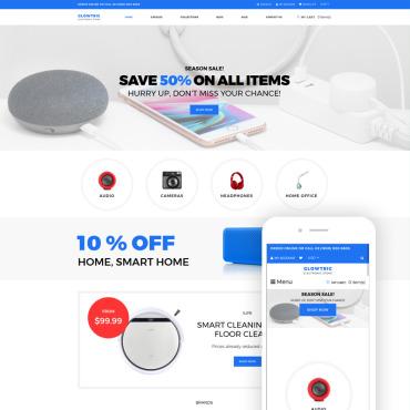 Купить  пофессиональные Shopify шаблоны. Купить шаблон #79166 и создать сайт.