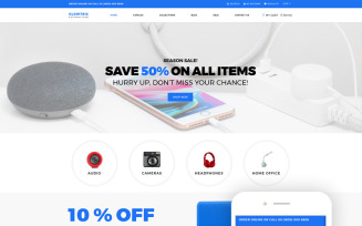 Clowtric - Electronics & Gadgets Multipage Shopify Theme