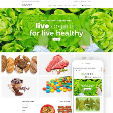 Купить  пофессиональные Shopify шаблоны. Купить шаблон #79196 и создать сайт.