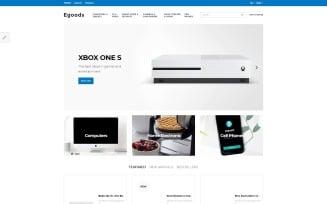 Egoods - Modern Electronics Shop OpenCart Template