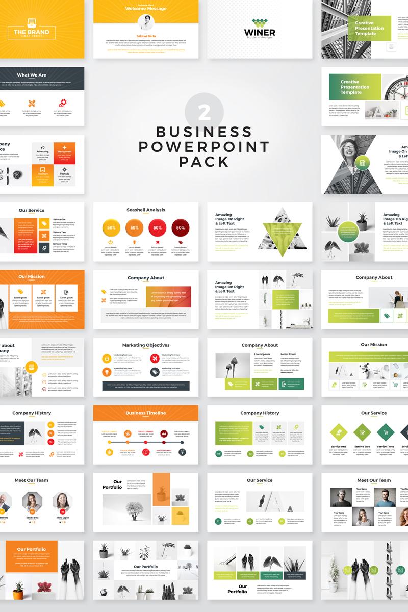 The Brand Business Presentation PowerPoint Template - screenshot