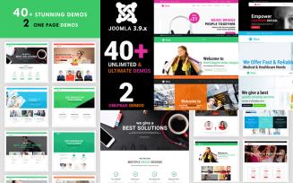 Rise - Responsive Multipurpose Creative Joomla Template