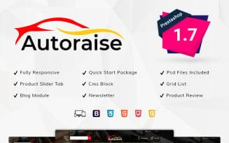 Autoraise - Auto Store PrestaShop Theme