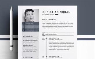 Christian Resume Template