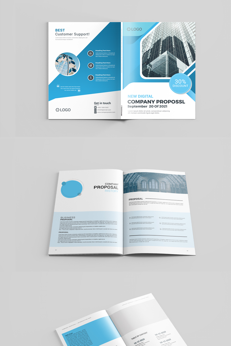 Company Proposal Corporate Identity Template