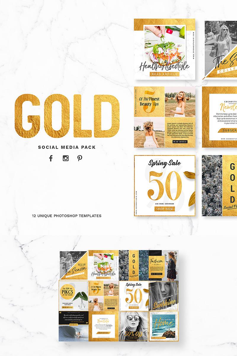 """Soziale Medien namens """"GOLD Pack"""" #79212 - Screenshot"""