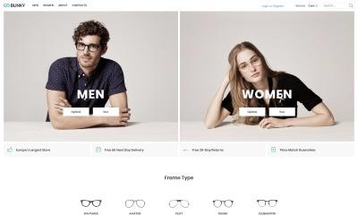Blinky - Glasses Store ECommerce Minimal Elementor