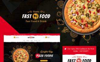 Fast Food PrestaShop Theme