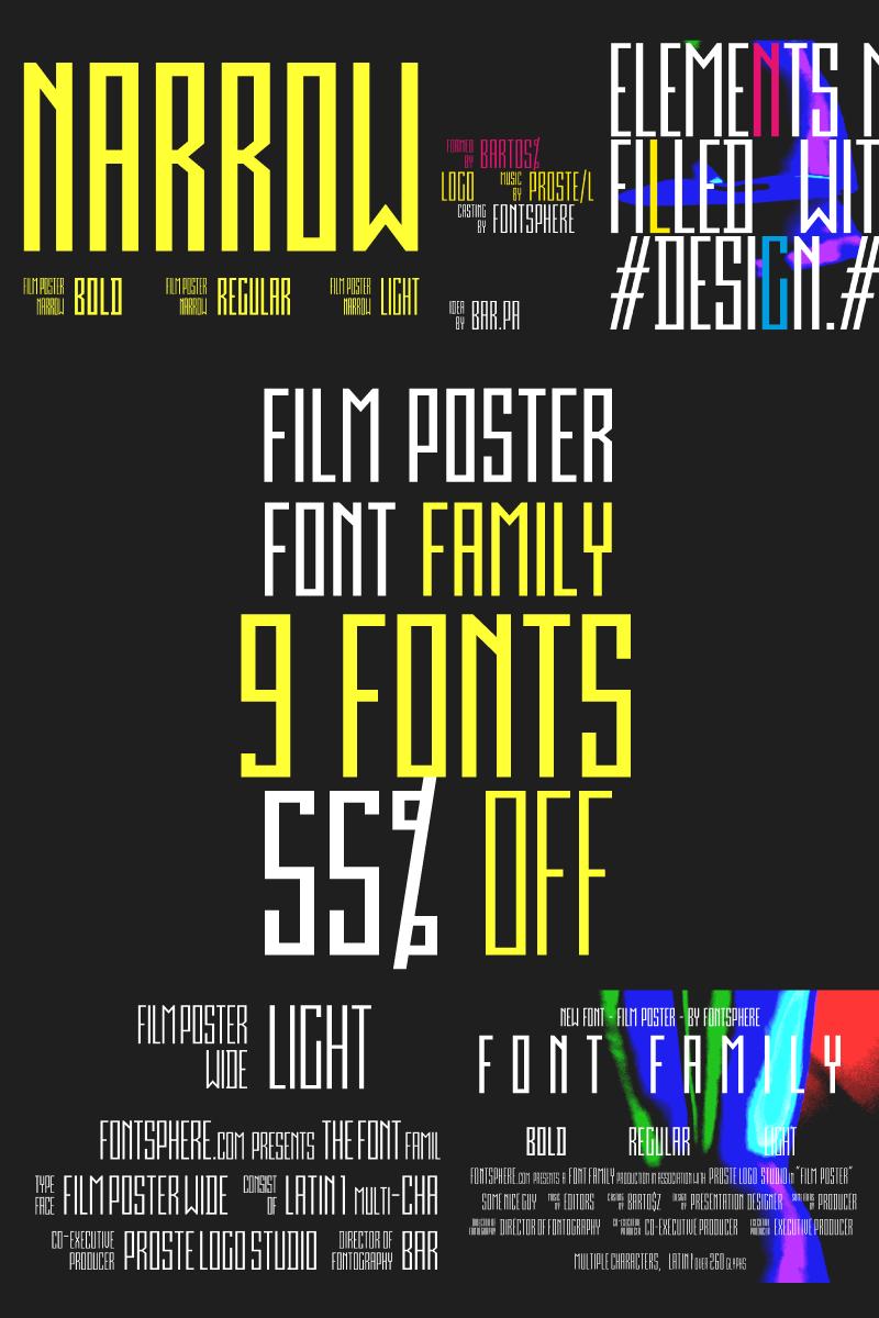 Film Poster Font Family Font