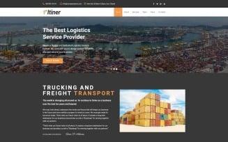 Itiner - Transportation Multipurpose Minimal WordPress Elementor Theme