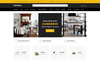 Markets - Wholesale Ready-to-Use Modern OpenCart Template