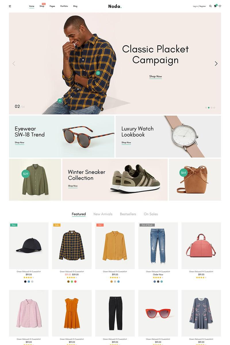 Noda - Fashion Store WooCommerce Theme - screenshot