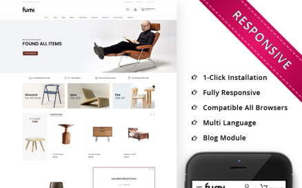 Furni - The Furniture Store Responsive WooCommerce Theme