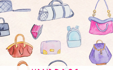 32 Handbags and Purses Illustration