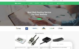 Crocko Host - Hosting E-commerce Clean Shopify Theme