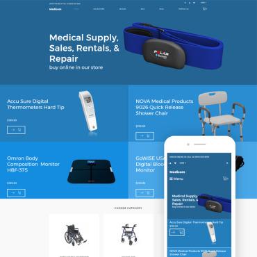 Купить  пофессиональные Shopify шаблоны. Купить шаблон #79483 и создать сайт.