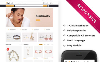 Bridal - The Jewellery Store Responsive OpenCart Template