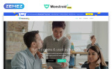 Monstroid2 - Free version HTML Template Web №79408