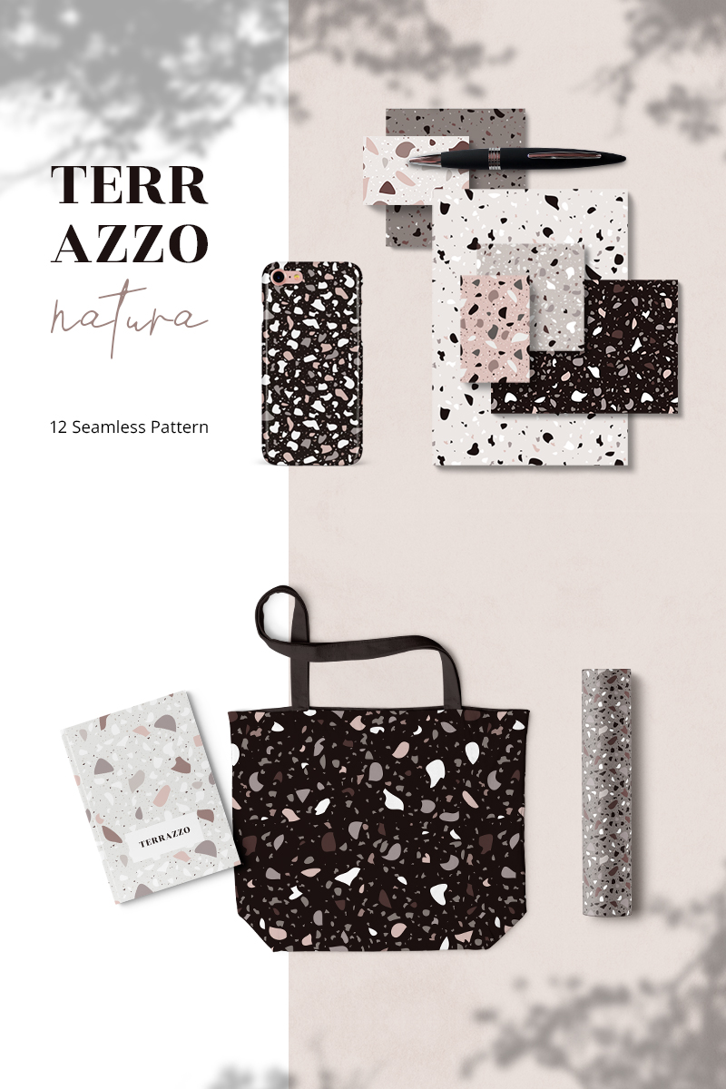 "Pattern namens ""Terazzo Natura Seamless"" #79475"
