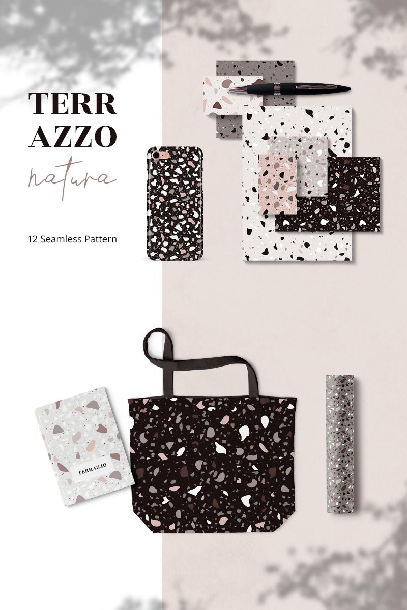 """""""Terazzo Natura Seamless"""" Pattern №79475"""