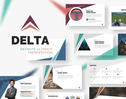 Delta Keynote Template