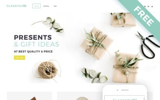 Classygift - Gifts Templates E-commerce Shopify Theme