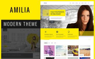 Amilia - Responsive MultiPurpose Joomla Template