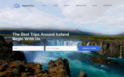 Explore Tour - Travel Agency Modern HTML Landing Page Template