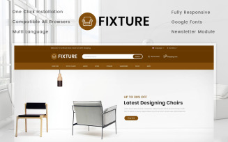 Fixture - Online Furniture Store OpenCart Template