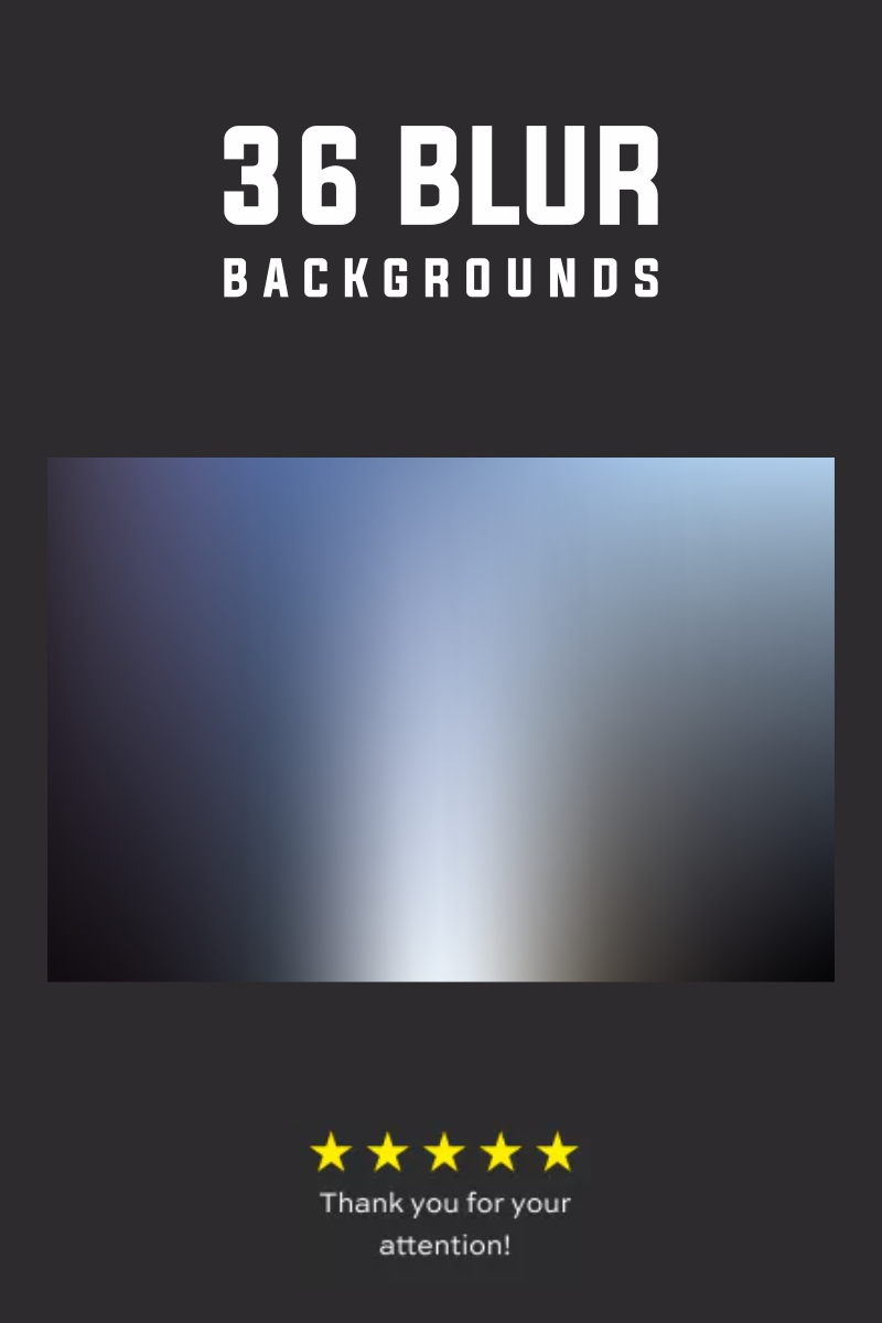 36 Blur Backgrounds №79580