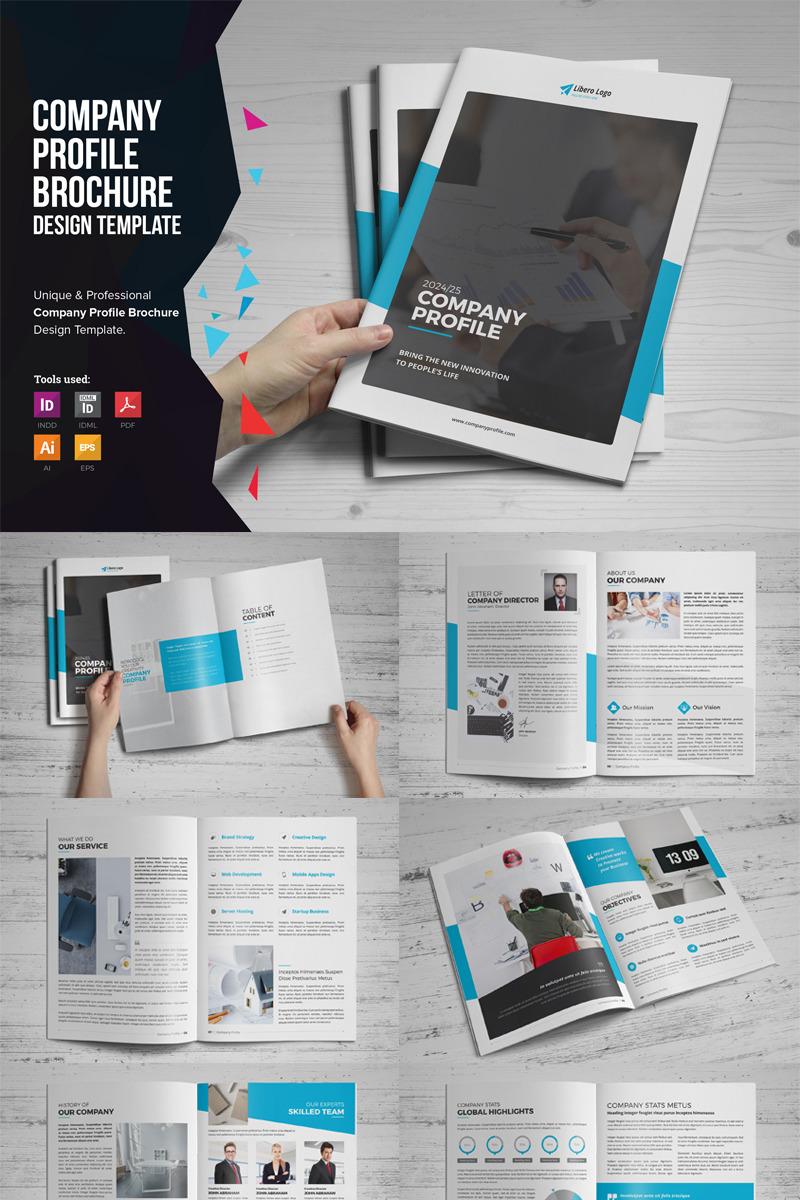 company profile brochure corporate identity template  79570