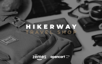 Hiker Way - Travel Store Multipage Modern OpenCart Theme