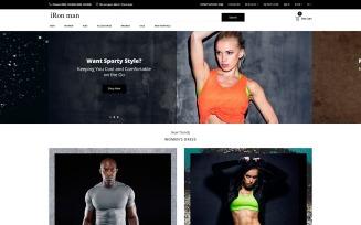 iRon Man - Sports Store eCommerce Modern OpenCart Template