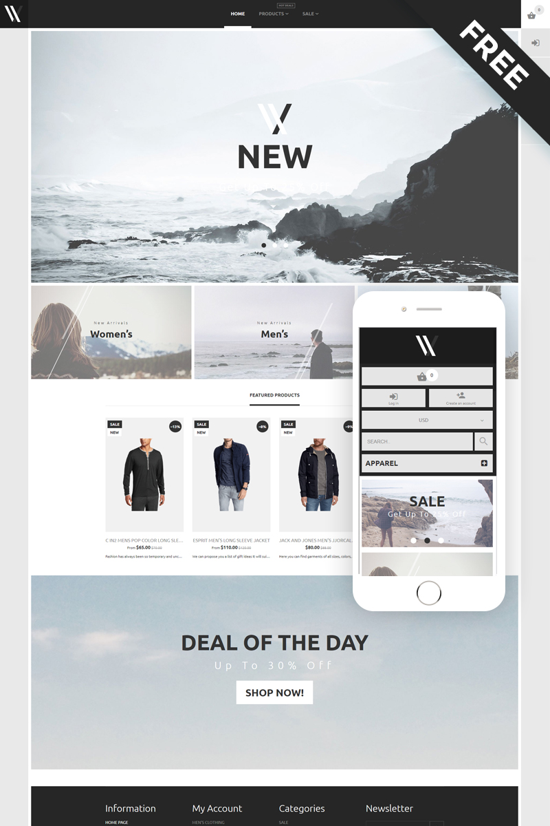 Styler - Apparel E-Commerce Stylish Shopify Theme - screenshot
