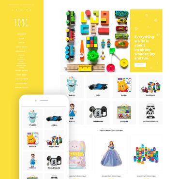 Купить  пофессиональные Shopify шаблоны. Купить шаблон #79634 и создать сайт.