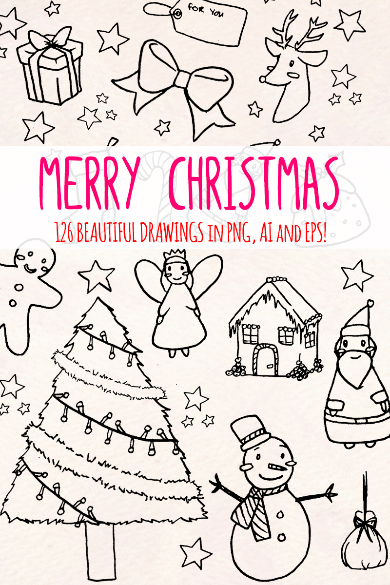 125 Christmas Holiday Illustration #79614