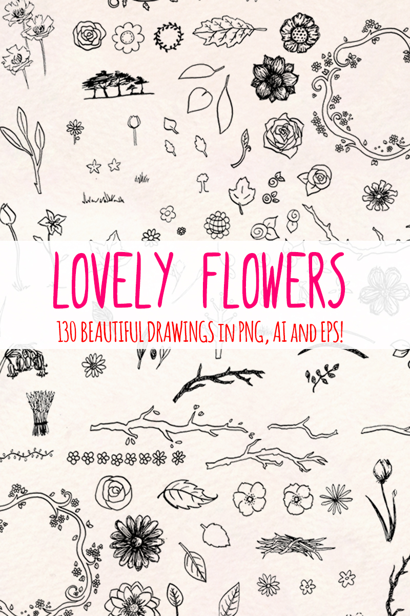 130 Floral Natural Illustration - screenshot