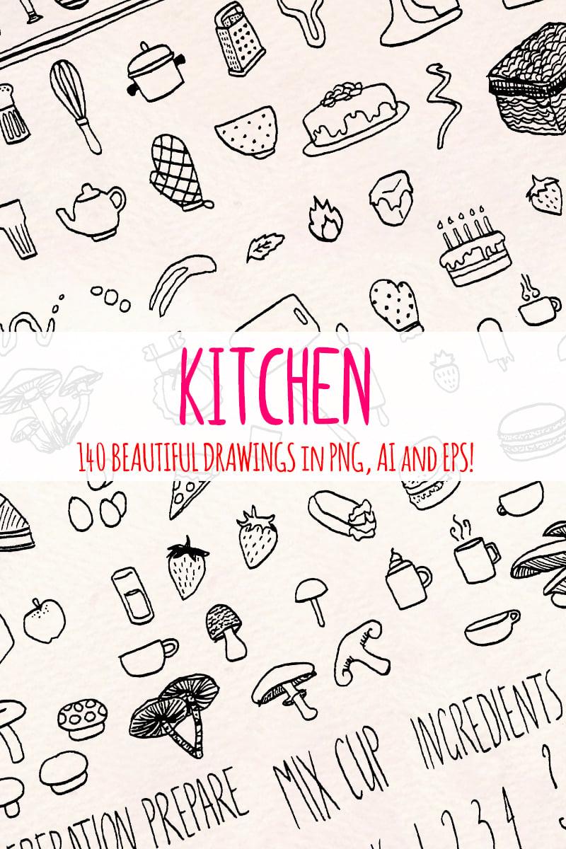 148 Food, Kitchen and Cooking Ilustração №79624