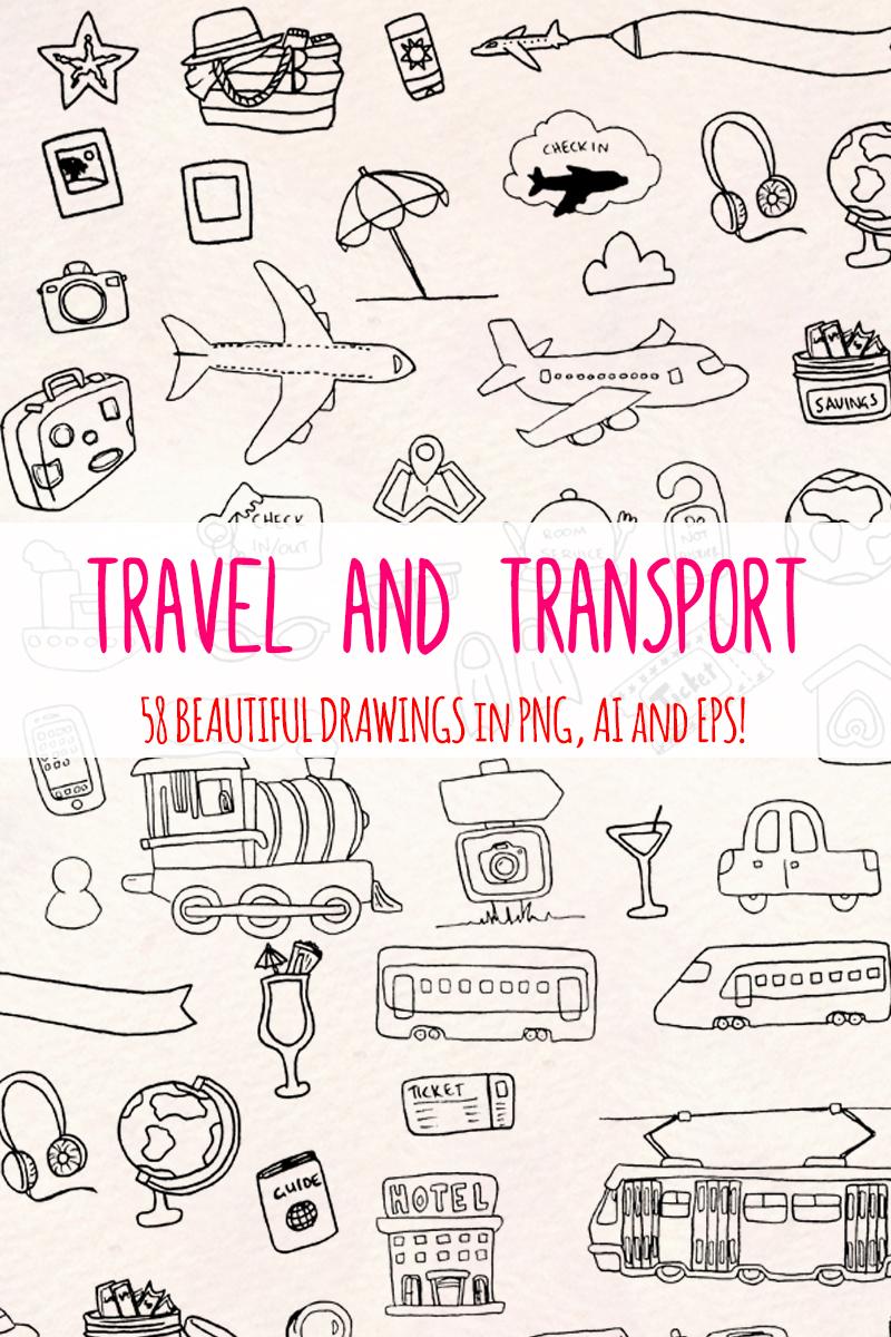 58 Holiday, Travel and Transport Ilustração №79693