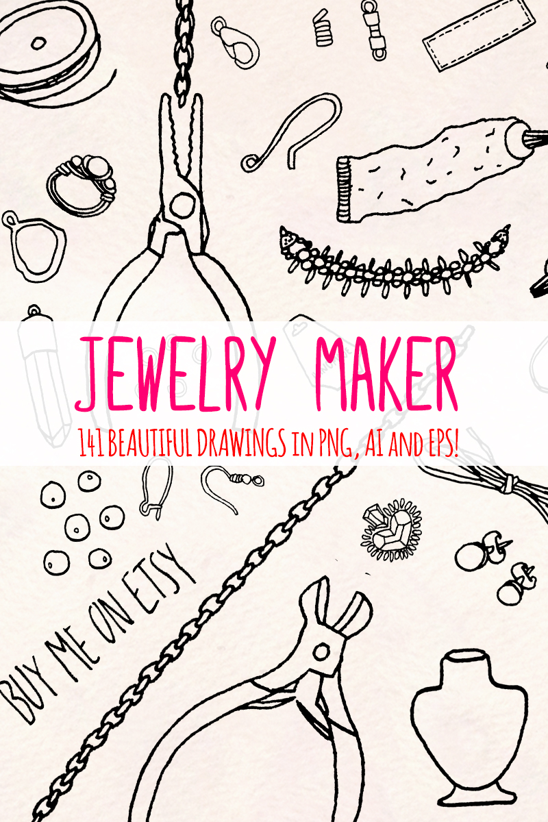 "Ilustrace ""141 Jewellery Making Craft Shop"" #79622"