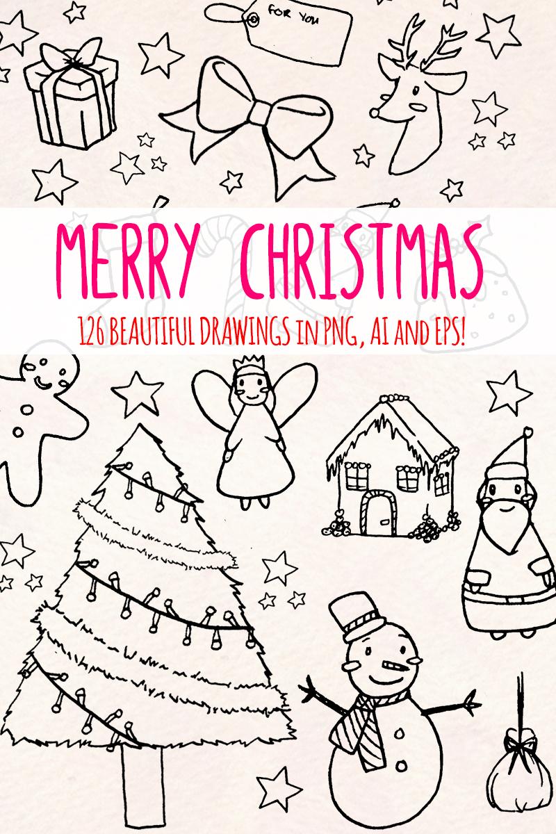 """Ilustración """"125 Christmas Holiday"""" #79614 - captura de pantalla"""