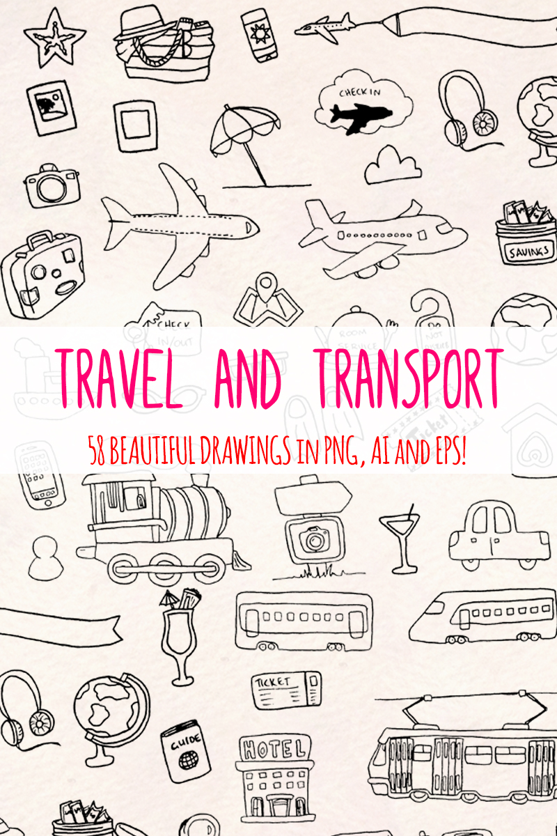 "Ilustración ""58 Holiday, Travel and Transport"" #79693"