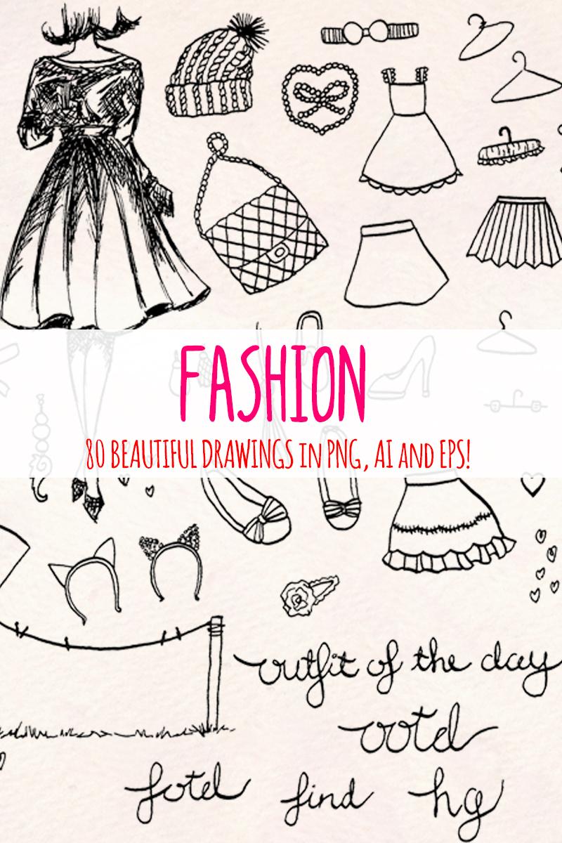 "Ilustración ""82 Fashion and Clothing"" #79661"