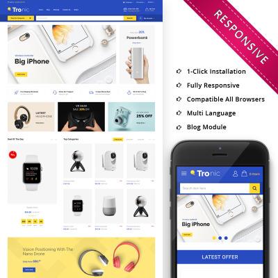 Responsive OpenCart Vorlage für Handyladen