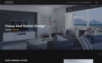 FUNTURE - Interactive Architecture Website Template