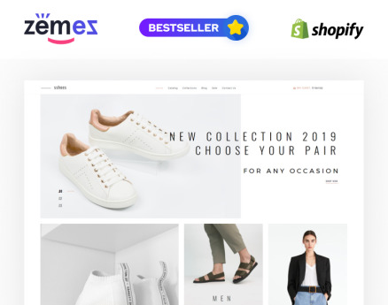 sshoes - Shoe Store Clean Shopify Theme