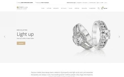 Jewella - Jewelry Store Clean OpenCart Template