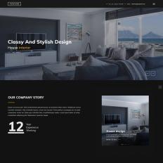 Funture Interactive Architecture Web Form Design Template